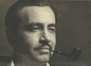 My father in his younger days. The pipe may be hereditary.